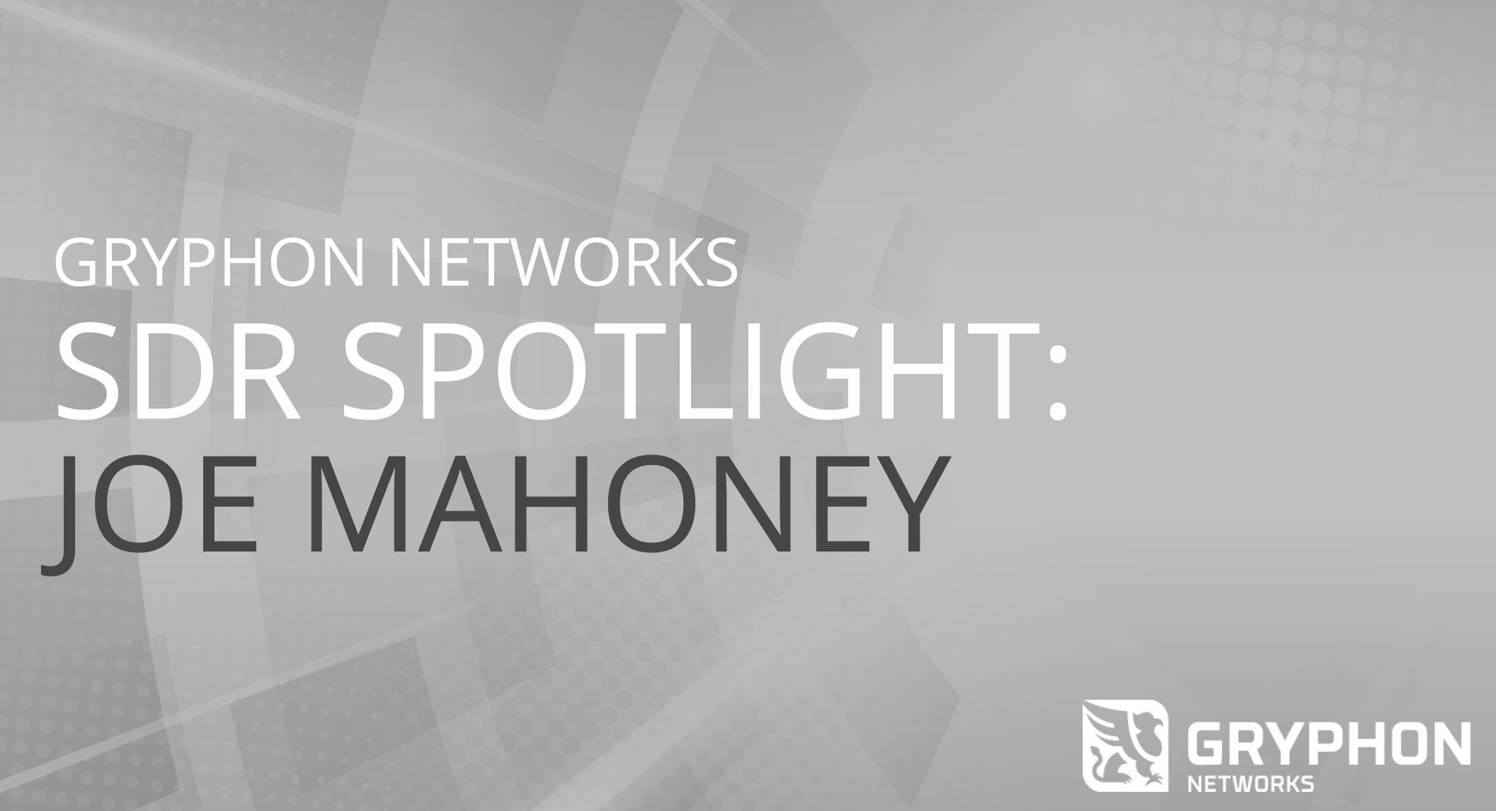 SDR Spotlight: Interview with Joe Mahoney